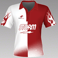 STORM Flame red-white No.S12EU19PW2